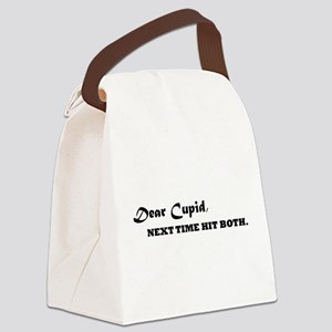 Dear Cupid Canvas Lunch Bag